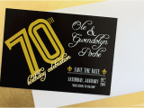 70th Birthday Save the Date Cards Designing Birthday Party Invites Modish Main