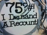 75 Birthday Decorations 75th Birthday Decorations Personalized Party Signs I Demand A