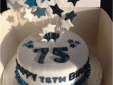 75 Birthday Party Decorations 75 Th Birthday Cake 75 Birthday Pinterest Birthday