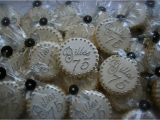75 Birthday Party Decorations 75th Birthday Party Favor Cookie Connection Letter