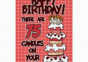 75 Year Old Birthday Cards Happy Years Greeting Card Zazzle