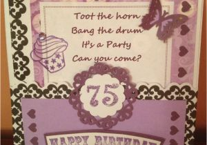 75th Birthday Card Ideas 13 Best Moms Party Images On Pinterest