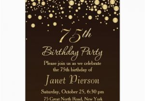 75th Birthday Card Ideas The Best Invitations And Party Invitation
