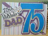 75th Birthday Cards for Dad Happy 75th Birthday Dad Gallery
