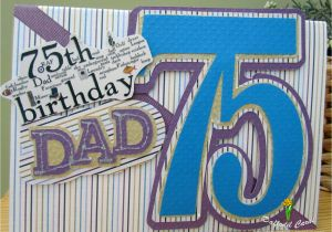 75th Birthday Cards For Dad Happy Gallery