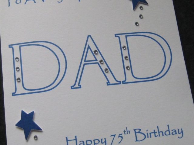 Download By SizeHandphone Tablet Desktop Original Size Back To 75th Birthday Cards For Dad