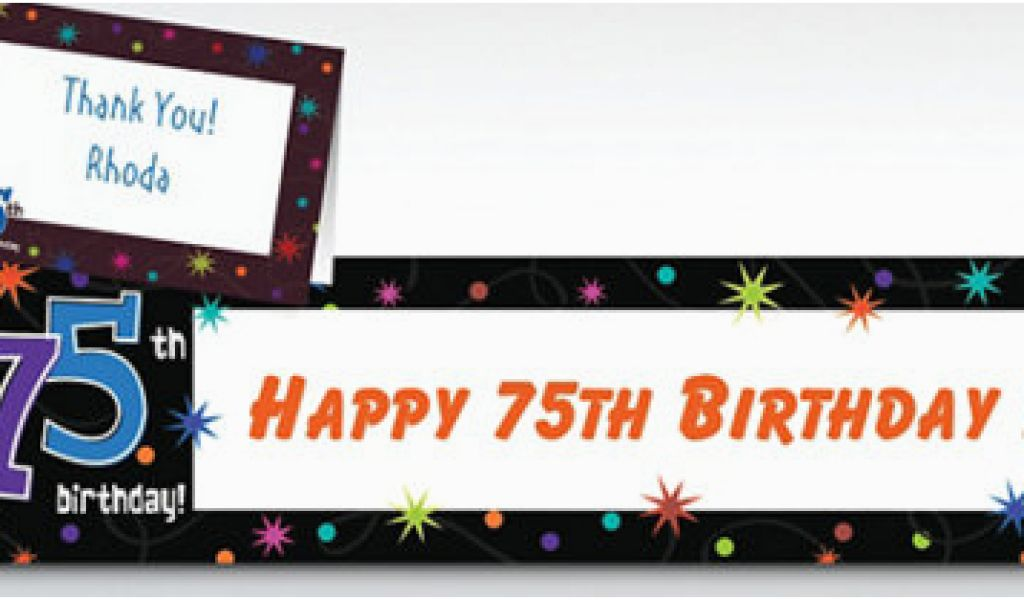 Download By SizeHandphone Tablet Desktop Original Size Back To 75th Birthday Decorations Party City