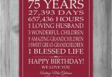 75th Birthday Gift Ideas for Her 75th Birthday Gift Sign Canvas Print Personalized Art Mom