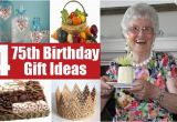 75th Birthday Gifts for Her 75th Birthday Gift Ideas for Your Dear One Gift Ideas