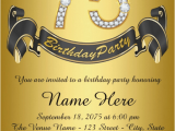 75th Birthday Party Invitation Wording 75th Birthday Invitations 50 Gorgeous 75th Party Invites