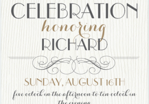 75th Birthday Party Invitation Wording The Best Invitations And