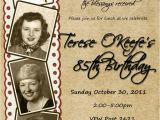 80 Year Old Birthday Invitations Best 25 80th Birthday Invitations Ideas On Pinterest