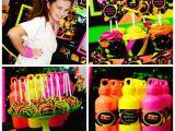 80s Birthday Party Decorations Kara 39 S Party Ideas Neon 80 39 S Skate themed Birthday Party