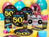 80s Birthday Party Decorations totally 80 S Special events Party Supply Store In Ak