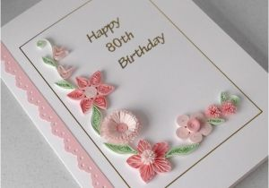 80th Birthday Card Message Happy 80th Birthday Greeting Card Cards