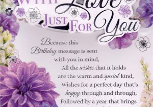 80th Birthday Card Message Wishes To A Wonderful Sister Cards Crazy