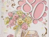 80th Birthday Cards for Mum Lovely Happy 80th Birthday Mum 80 Eighty Verse Wordy