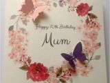 80th Birthday Cards for Mum Personalised 50th 60th 70th 80th 90th 100th Birthday Card