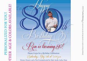 80th Birthday Cards Free Printable Mens Milestone By Creativestationery