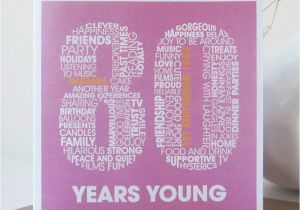 80th Birthday Cards Free Printable Personalised Card By Mrs L BirthdayBuzz