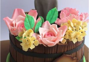 80th Birthday Flowers Plants Spring Flower Pot Birthday Cake Cakes Pinterest