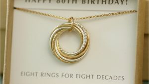 80th Birthday Gift Ideas for Her 80th Birthday Gift for Her Gift for Mother by Ilovehoneywillow