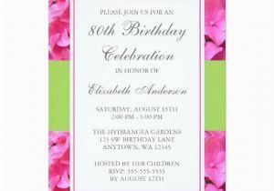 80th Birthday Invitation Wording Samples 15 Sample 80th Birthday Invitations Templates Ideas