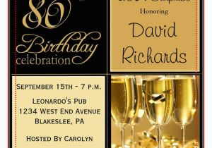 80th Birthday Invitation Wording Samples 80th Birthday Party