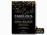 80th Birthday Invitations for A Man 30th 40th 50th 60th 70th 80th Birthday Invitation for by