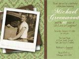 80th Birthday Invitations for A Man 80th Birthday Celebration Invitation