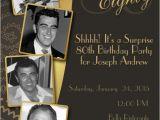 80th Birthday Invitations for A Man Diy Print Birthday Invites Adult 80th Birthday Invitation