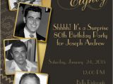 80th Birthday Invitations with Pictures 26 80th Birthday Invitation Templates Free Sample