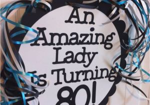 80th Birthday Party Decorations Supplies Favors Ideas