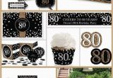 80th Birthday Party Decorations Supplies 80th Birthday Party Ideas the Best themes Decorations