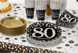 80th Birthday Party Decorations Supplies Sparkling Celebration 80th Birthday Party Supplies Party