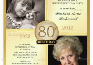 80th Birthday Party Invitations with Photos 15 Sample 80th Birthday Invitations Templates Ideas