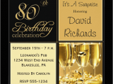80th Birthday Party Invitations with Photos 80th Birthday Invitations 30 Best Invites for An 80th