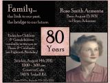 80th Birthday Party Photo Invitations Quotes for 80th Birthday Invitations Quotesgram