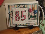 85th Birthday Card Verses Card 85th Birthday Card