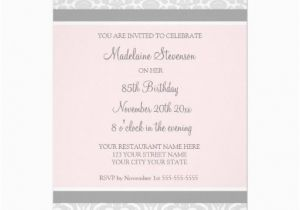 85th Birthday Invitation Wording Invitations Related Keywords