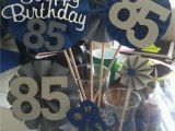 85th Birthday Party Decorations Grandpas 85th Birthday Easypeasybynoeeazy In 2018