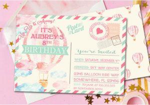 8th Birthday Invitation Templates Free Printable Kids