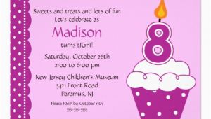 8th Birthday Invitation Templates 8th Birthday Party Invitations Wording Drevio