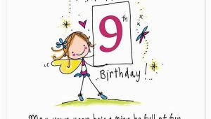 9 Year Old Birthday Card Sayings Happy 9th Birthday May Your Year Being Nine Be Full Of