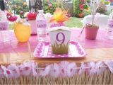 9 Year Old Birthday Girl Party Ideas Hawaiian Party Birthday Party Ideas Photo 3 Of 25