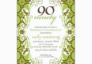90 Year Old Birthday Invitations Quotes Quotesgram