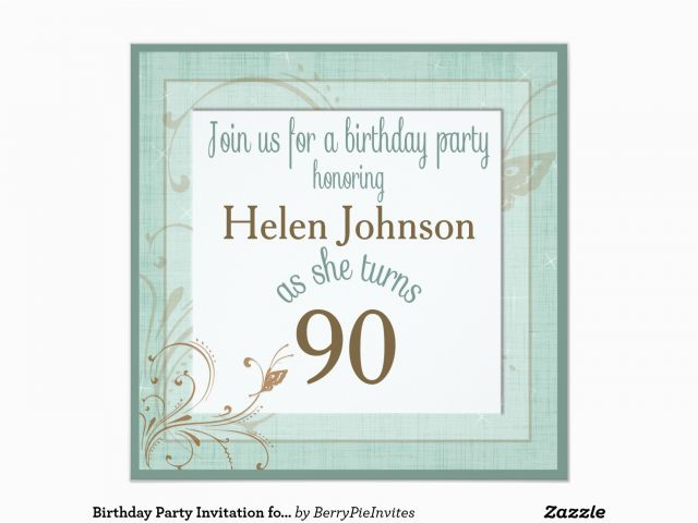 Download By SizeHandphone Tablet Desktop Original Size Back To 90 Year Old Birthday Invitations