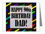 90th Birthday Cards for Dad 90th Birthday for Dad Note Cards Pk Of 10 by Birthdayhumor1