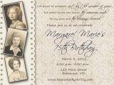 90th Birthday Celebration Invitation Invitations On Pinterest Birthday Invitations 90th
