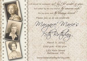 90th Birthday Celebration Invitation Invitations On Pinterest